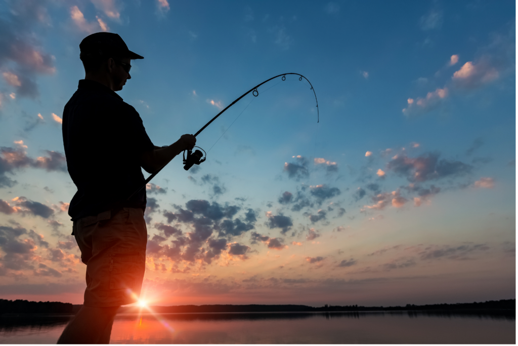 Boredom Busters with fishing